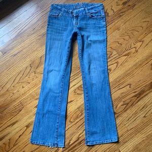 Seven7 Bootcut Stretch Jeans Sz 28